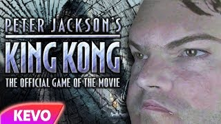 King Kong but Jack Black breaks the game