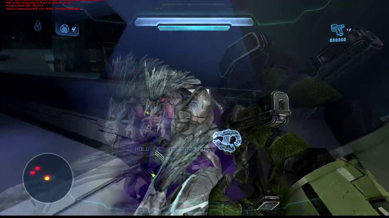 Halo CE - Halo 4 mod + hd textures (Anniversary on PC )