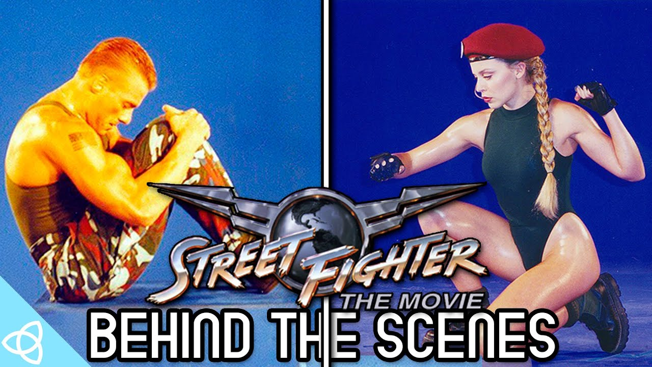 Behind The Scenes Street Fighter The Movie The Game Making Of Youtube