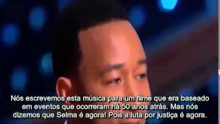 Discurso de aceite do Oscar de Common & John Legend (legendado)