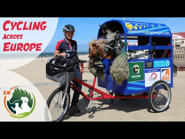 Cycling Across Europe with 2 Ponies & my Dog in tow!