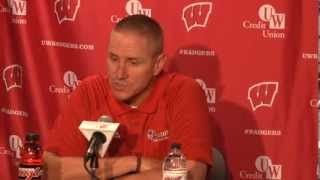 Gary Andersen talks about kicker Kyle French