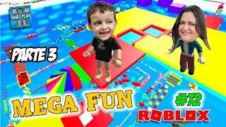 Roblox Desafio do ESCAPE INFINITO!! (Mega Fun Obby 1830 Stages) Parte 3 - Family Plays