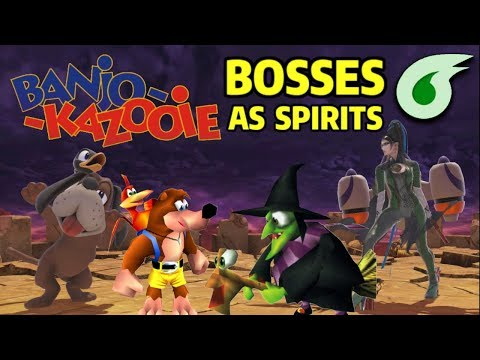 What if Banjo-Kazooie's Bosses were Spirits in Super Smash Bros. Ultimate? thumbnail