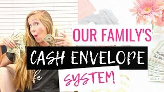 Our Family's Cash Envelope System 2018 | Real Numbers Inside Our Cash Envelope Wallet!