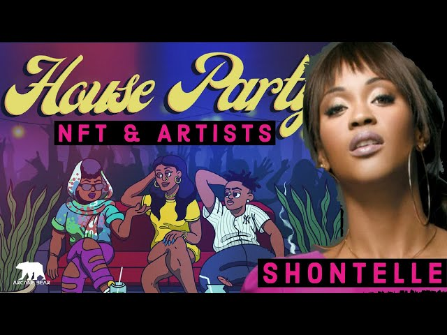 Get Your Name IN a Shontelle Track!  - NFT and Artists with Shontelle