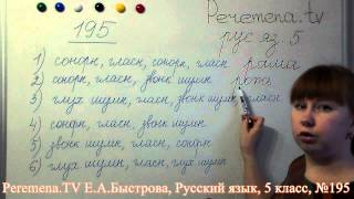 Peremena TV Русский язык, Быстрова, №195
