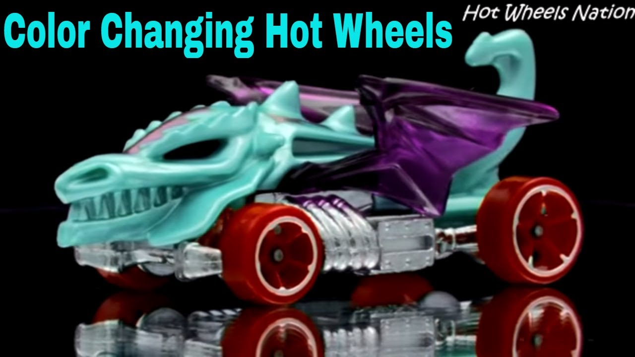 Color Changing Hot Wheels Dragon Blaster 2013  YouTube