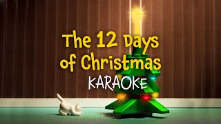 The 12 Days of Christmas (lyrics video for karaoke)