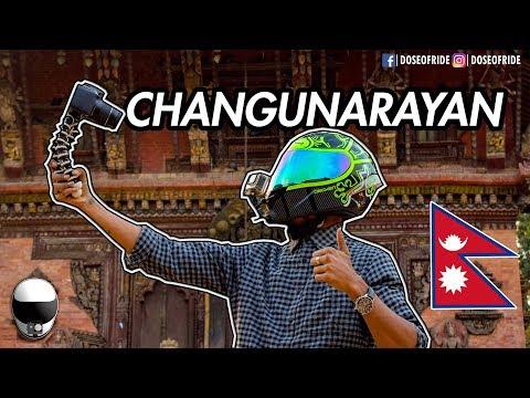 RIDE TO CHANGUNARAYAN TEMPLE | BHAKTAPUR, NEPAL | MOTOVLOG [EP#35]