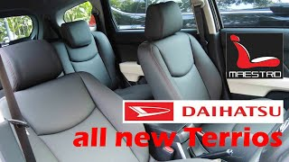 review daihatsu all new terrios terbaru , sarung jok mobil paten