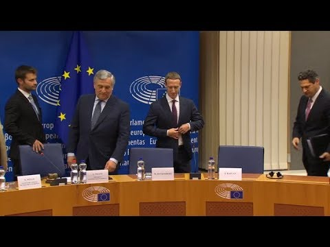 Zuckerberg vuelve a disculparse por el rol de Facebook, esta vez ante Europa