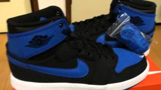 aj1 air jordan 1 ko high og sport blue review on feet