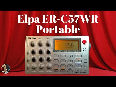 ELPA ER-C57WR MW FM SW LW AIR Band World Radio Review