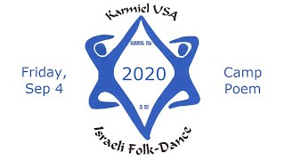 Karmiel USA 2020 - Friday Camp Poem