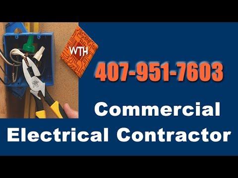 Commercial Electrical Contractors Orlando Fl