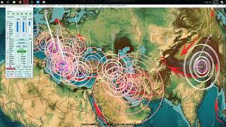 3/20/2018 -- New Midwest USA Earthquake -- Fracking ops hit again -- Seismic progression across area