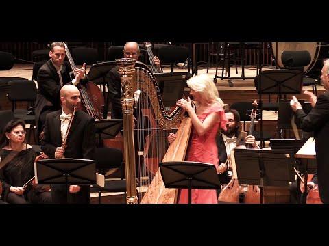Mozart. Flute and Harp Concerto K299. Zubin Mehta, Julia Rovinsky, Guy Eshed