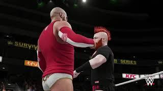 WWE2K18 SURVIVOR SERIES PPV HIGHLIGHTS EP.2 / RAW VS SMACKDOWN