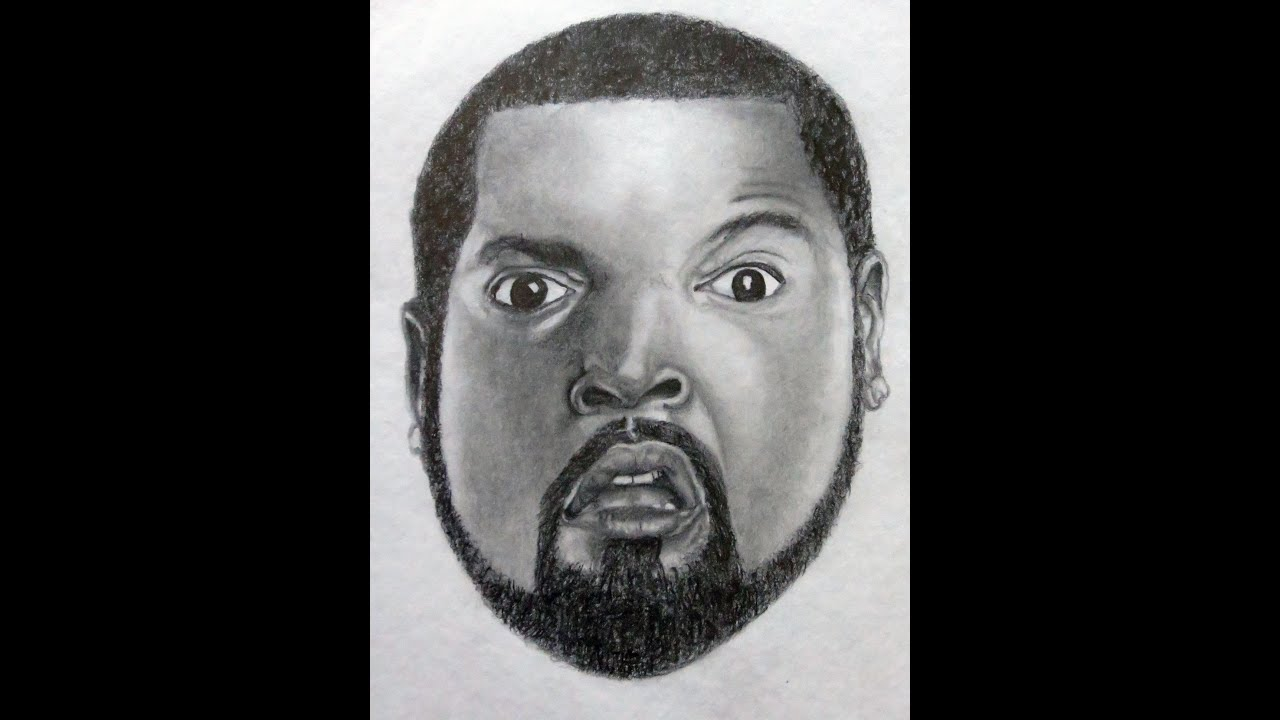 Drawing Ice Cube | In Graphite Pencils | Samar Ali Khan ...