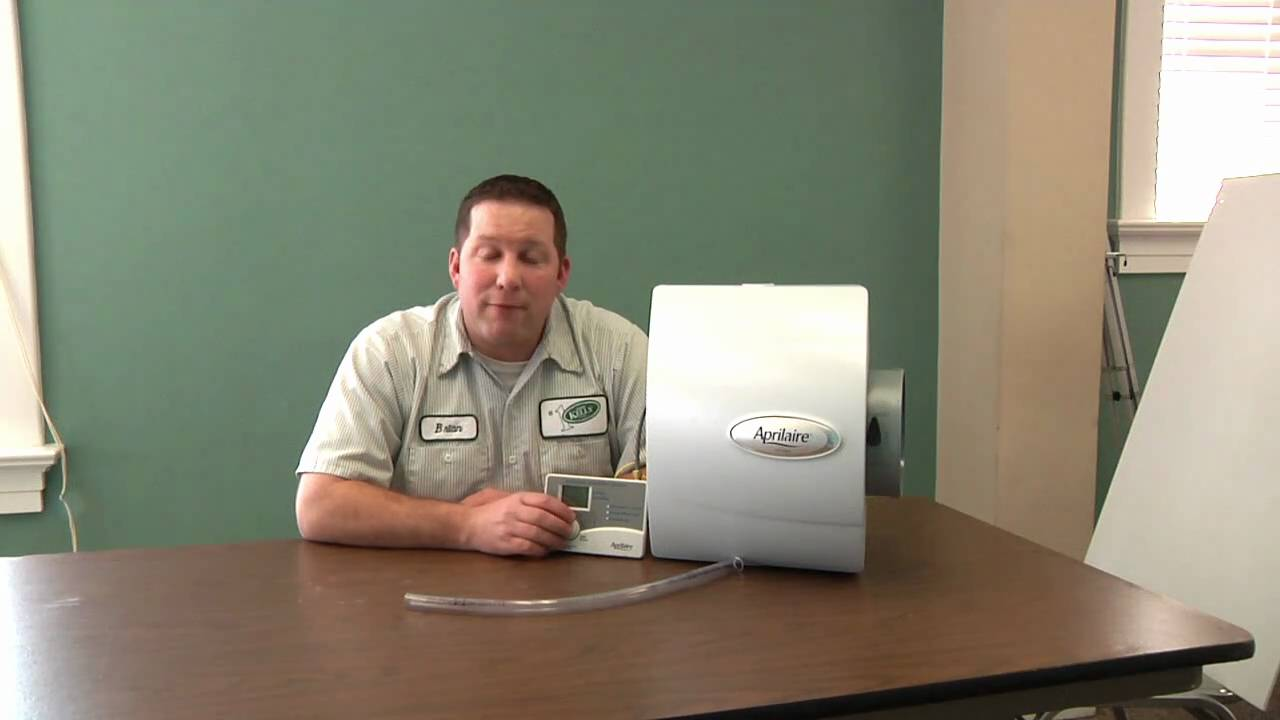 how to change your aprilaire humidifier s water panel jerry kelly hvac youtube [ 1280 x 720 Pixel ]