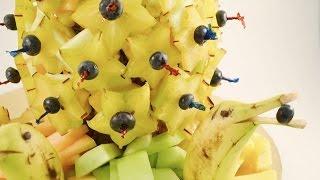 How to Make a Fruit Arrangement - Edible Centerpiece | RadaCutlery.com