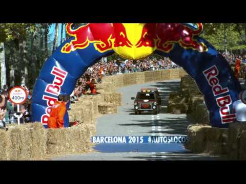 Red Bull Autos Locos Barcelona 2015 HD [A Team Rallye Van]