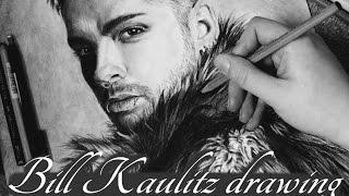 Drawing Bill Kaulitz - Dream Machine - Tokio Hotel