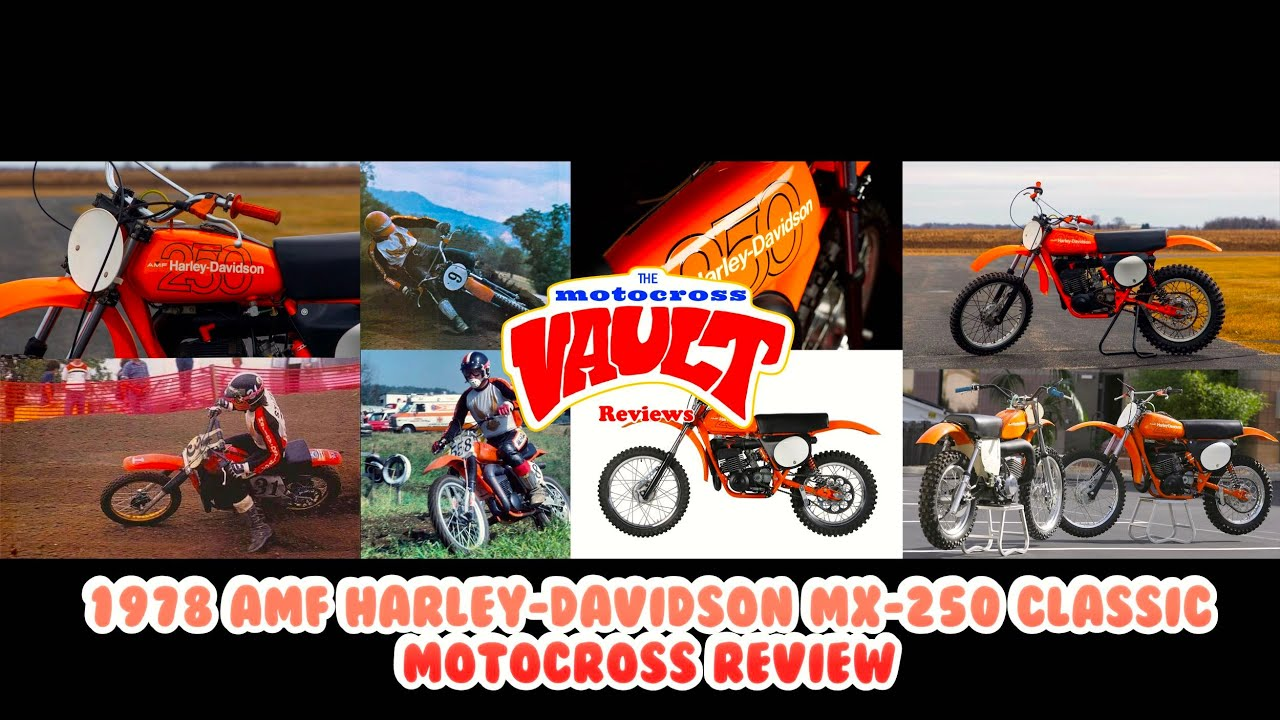 1978 AMF Harley-Davidson MX-250 Classic Motocross Review