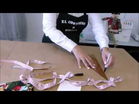 Como hacer un delantal- How to make an apron