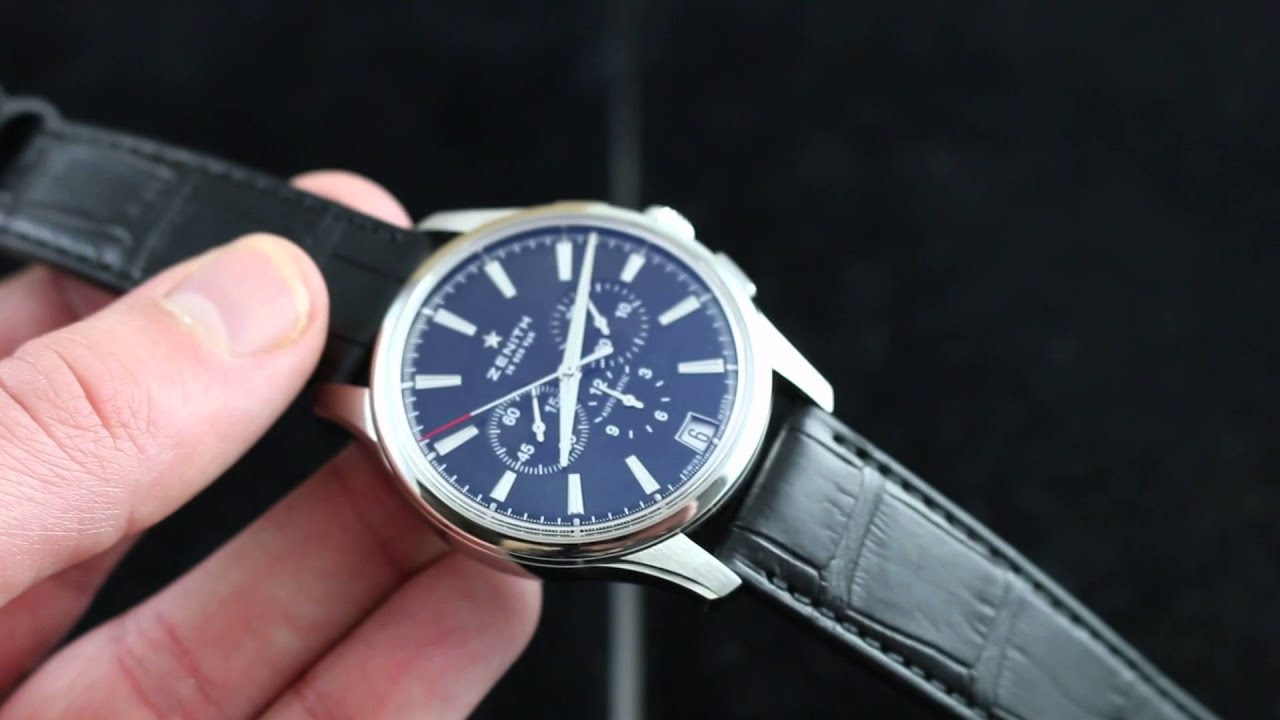 Chronograph Watches Zenith El Primero Chronograph Luxury Watch Review - Youtube