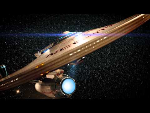 Star Trek USS Enterprise-A tribute - For Leonard Nimoy(1931-2015)