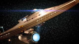 Star Trek USS Enterprise-A tribute - For Leonard Nimoy(1931-2015)