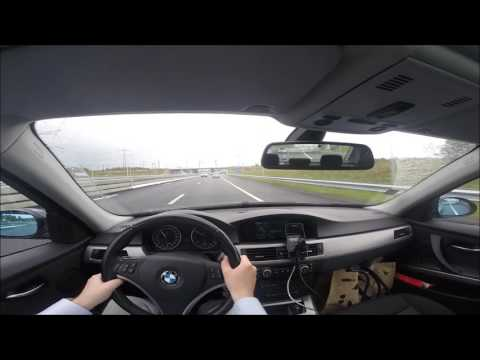 The co-drivers view: new A1 Muiden