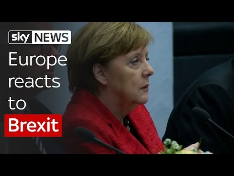 Brexit: Europe reacts as Britain leaves the EU