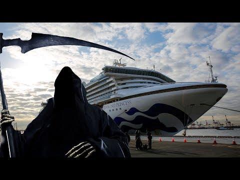Корабль зараженных коронавирусом! C круизного лайнера эвакуируют пассажиров