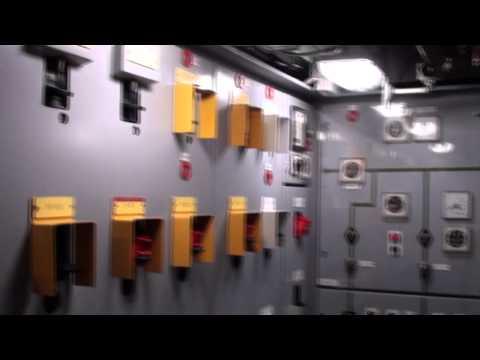 Inside the nuclear submarine Le Redoubtable