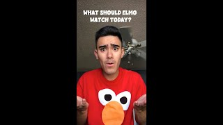 What Should Elmo Watch Today? #Shorts