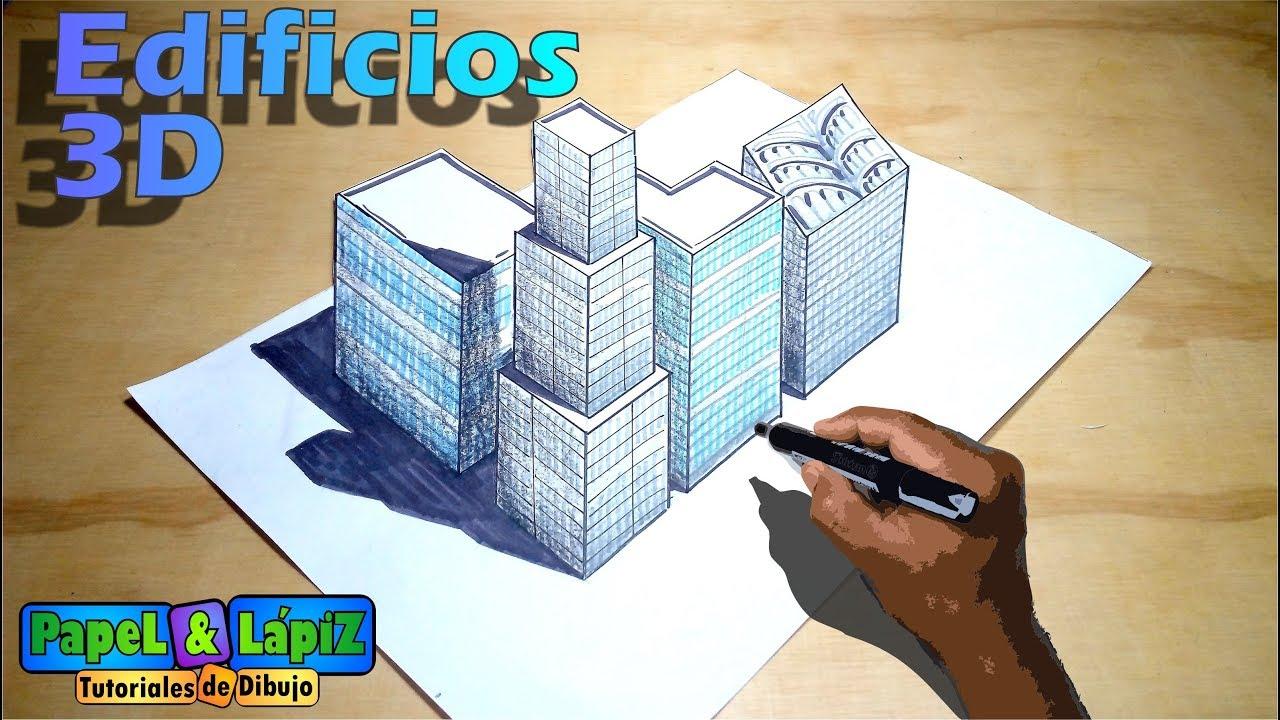 Cómo Dibujar Edificios Y Rascacielos En 3D