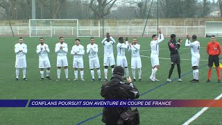 Yvelines | Conflans poursuit son aventure en Coupe de France