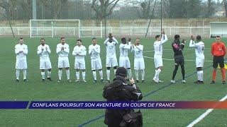 Yvelines | Conflans poursuit son aventure en Coupe de France