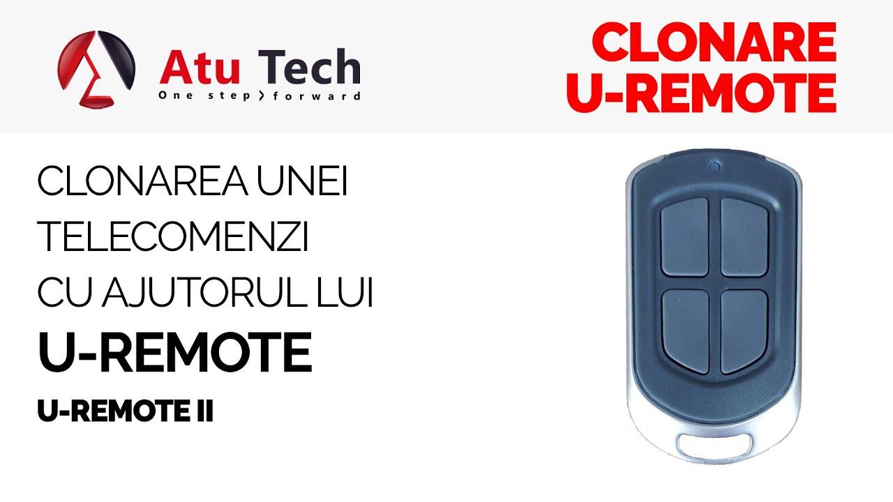 Cum clonam o telecomanda cu ajutorului dispozitivului U-remote
