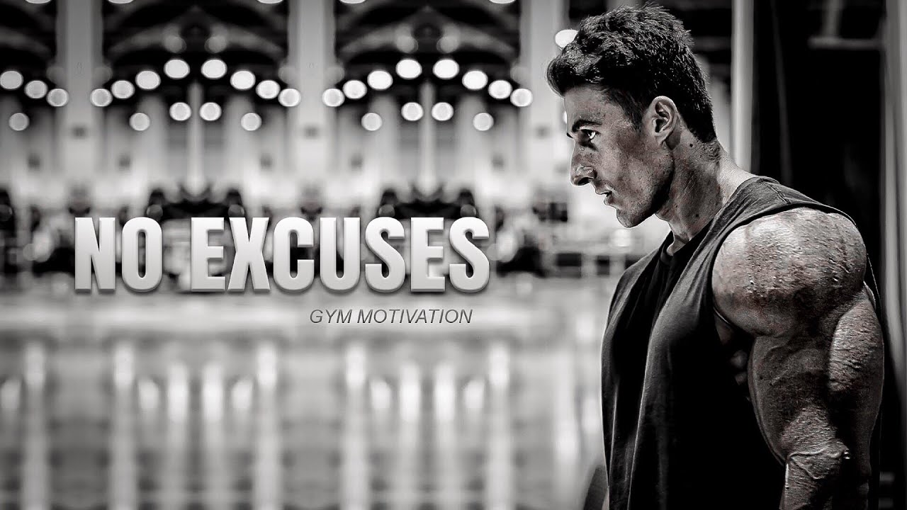 NO EXCUSES – Gym Motivation 😤