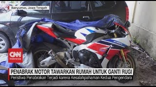 Viral Ayla Seruduk Honda Cbr, Pemilik Mobil Tawarkan Rumah Dan Mobil Untuk Ganti Rugi