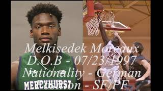 Melkisedek Moreaux (Full College Highlights)
