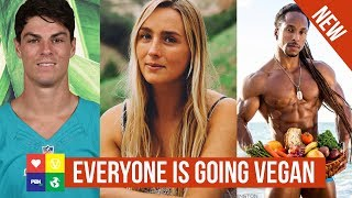 Why are so many ATHLETES going VEGAN? ????Director Interview w/ Santio Panico