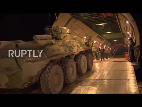 Russia: Sappers leave Moscow for mine-clearance operation in Aleppo