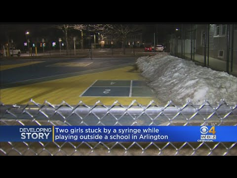 Two Girls Stuck By Syringe At Arlington School