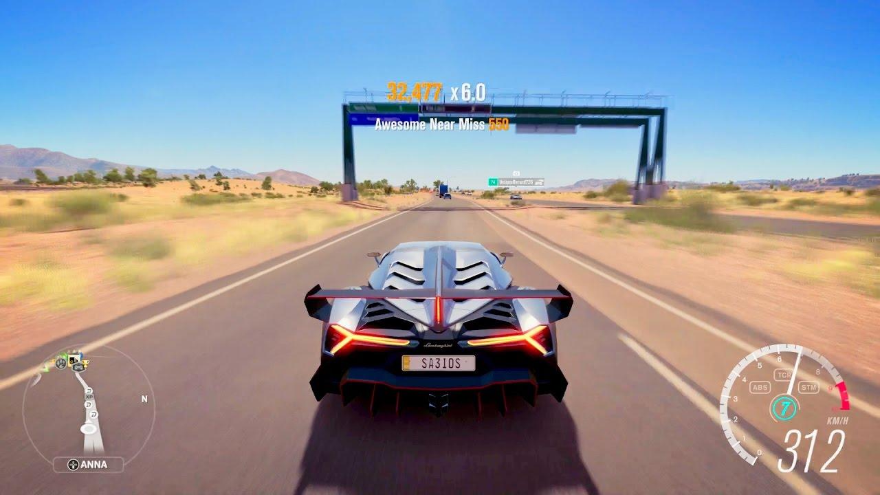 Forza Horizon 3 Lamborghini Veneno Youtube