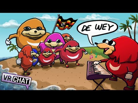 THE WAY OF MUSIC!!! (VRChat Ugandan Knuckles)